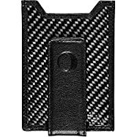 idclipz Best Money Clip and Front Pocket Wallet for Men - Carbon Fiber & Leather with Credit Card Holder & ID Case - RFID Blocking ...