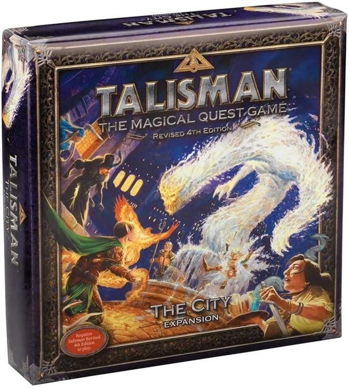 Pegasus Spiele 56208E Talisman The City - Juego de Mesa (expansión): Amazon.es: Juguetes y juegos