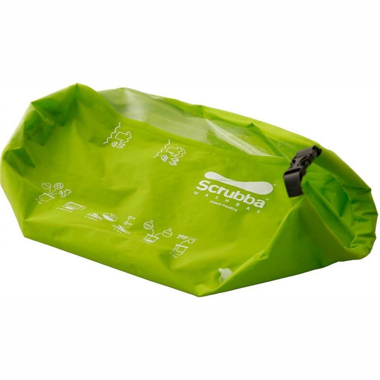 Scrubba 'Wash Bag' Waschsack, Grün, One Size Grün RELGV|#Relags SBAG-001