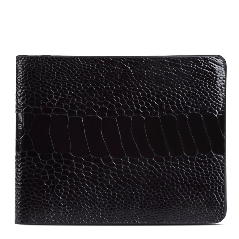 Rfid Blocking Genuine Leather Wallet Men Excellent Travel Credit Card Case Wallets Protector Money-A 10x13cm(4x5inch)
