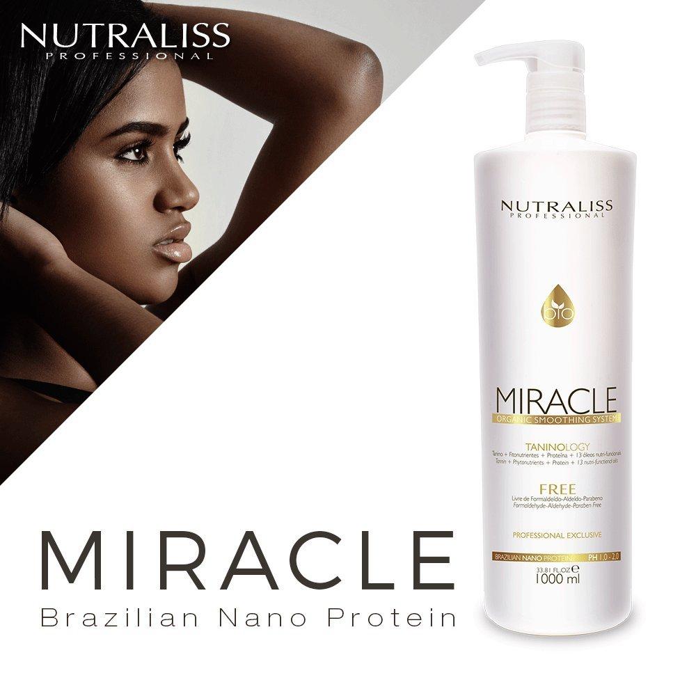 Nutraliss Miracle Brazilian Nano Protein Formaldehyde Free Botox Hair Liter