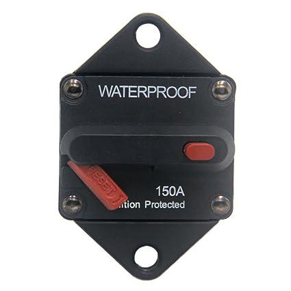 amazon com zookoto 150a circuit breaker hi amp fuse inverter with rh amazon com