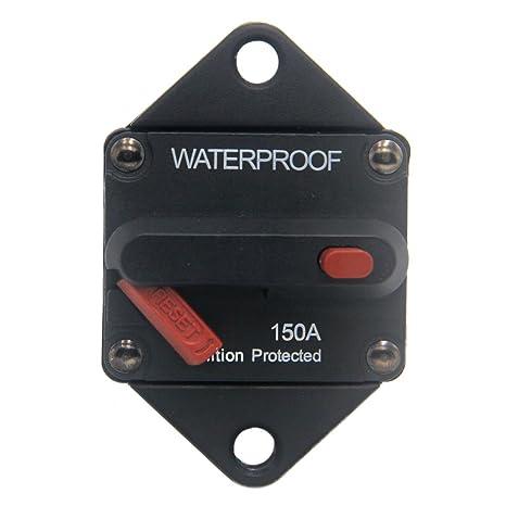 amazon com zookoto 150a circuit breaker, hi amp fuse inverter with