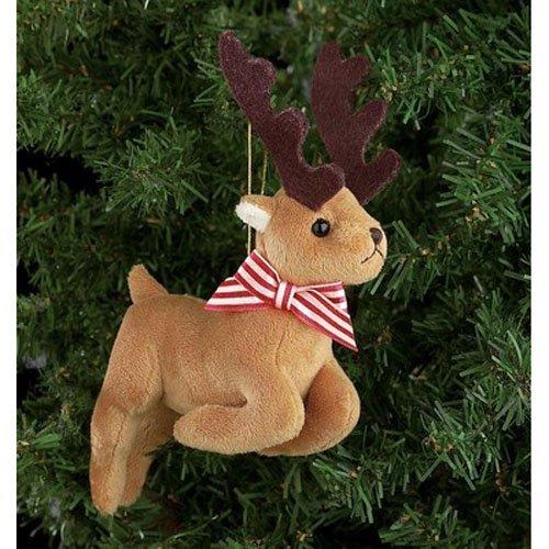 Bearington Collection Reiney Plush Ornament by Bearington Bears