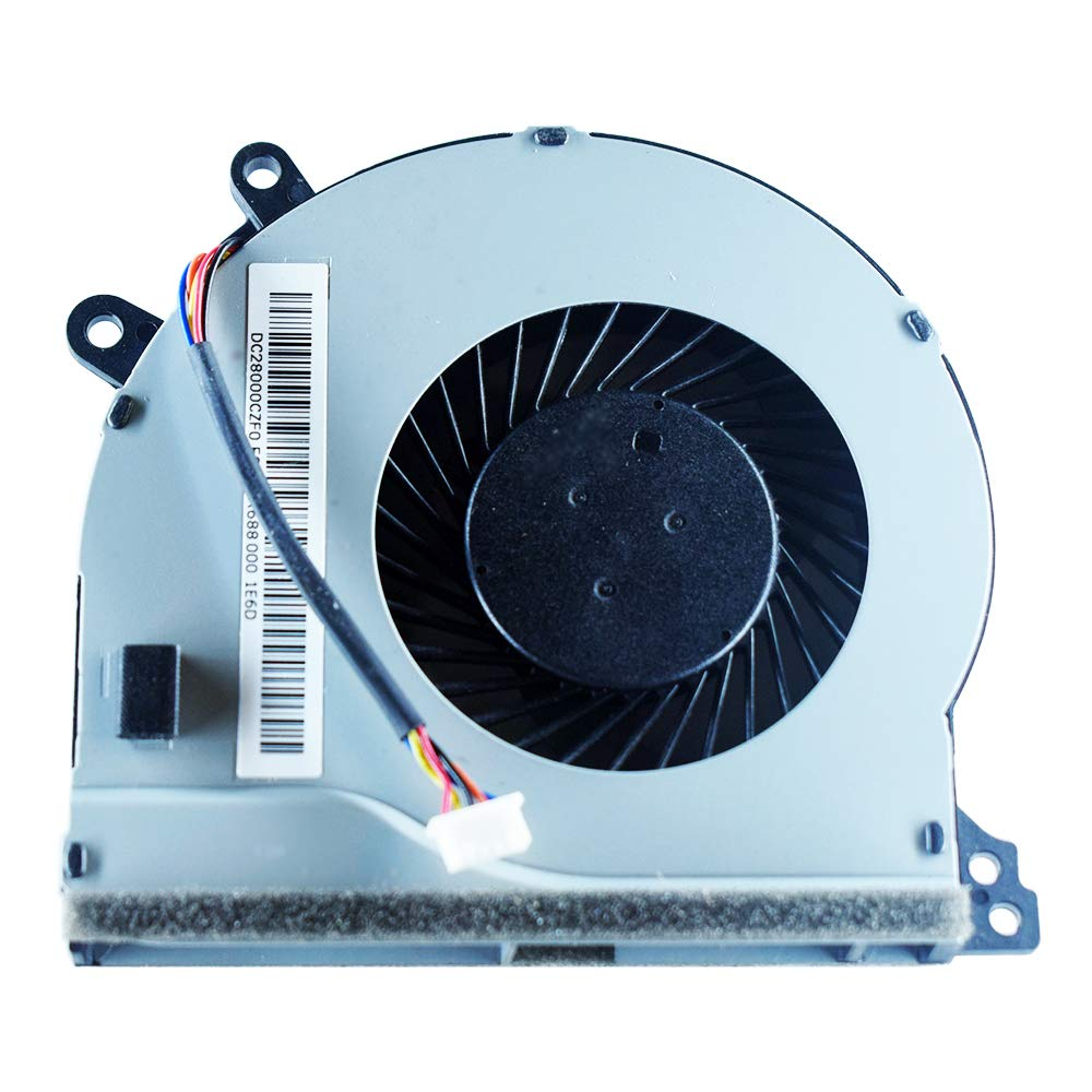 YDLan New CPU Cooling Fan Compatible for Lenovo IdeaPad 510-15IKB 510-15ISK 310-15ABR 310-15IAP 310-15IKB 310-15ISK 310-14IAP 310-14IKB 310-14ISK Series DC28000CZF0