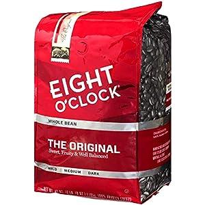 Eight O'Clock Whole Bean Coffee, 100% Colombian Peaks, 40 Ounce