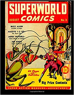 superworld comics 3 super action wonders adventures 1940 kari