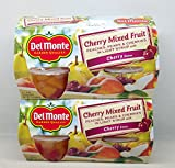 Del Monte Cherry Mixed Fruit in Light Syrup - 1 Multi-Pack (4 cups)