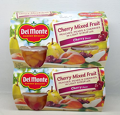 Del Monte Cherry Mixed Fruit in Light Syrup - 1 Multi-Pac...
