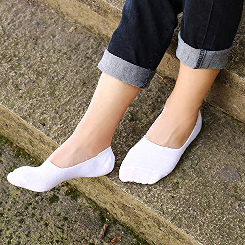 Amazon.com: ForShop 3 Pairs/Lot Men Invisible Socks Unisex Low Cut Ankle Socks Men Male Casual Soft Cotton Non-Slip Silicone Boat Sock meia: Kitchen & ...