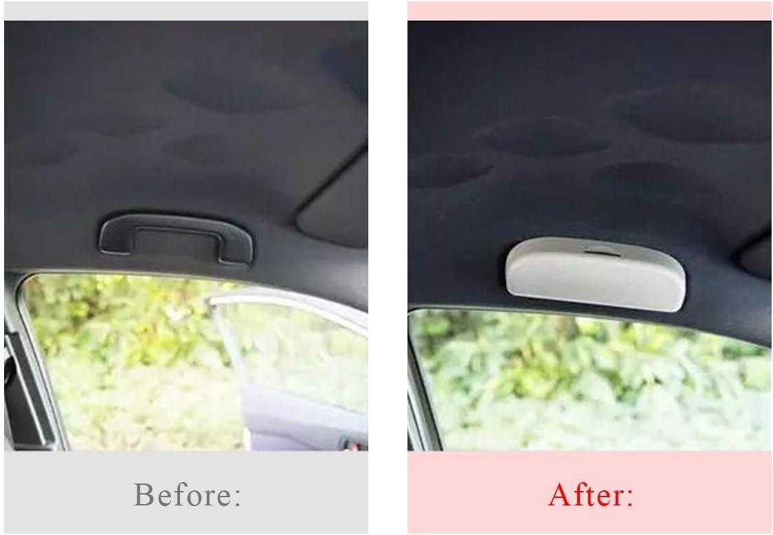 Black LFOTPP Car Sunglasses Holder Glasses Case Interior for Corolla