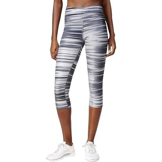 f979e5b770d Amazon.com  NIKE Women s Legend Swift Print Capri Leggings (L