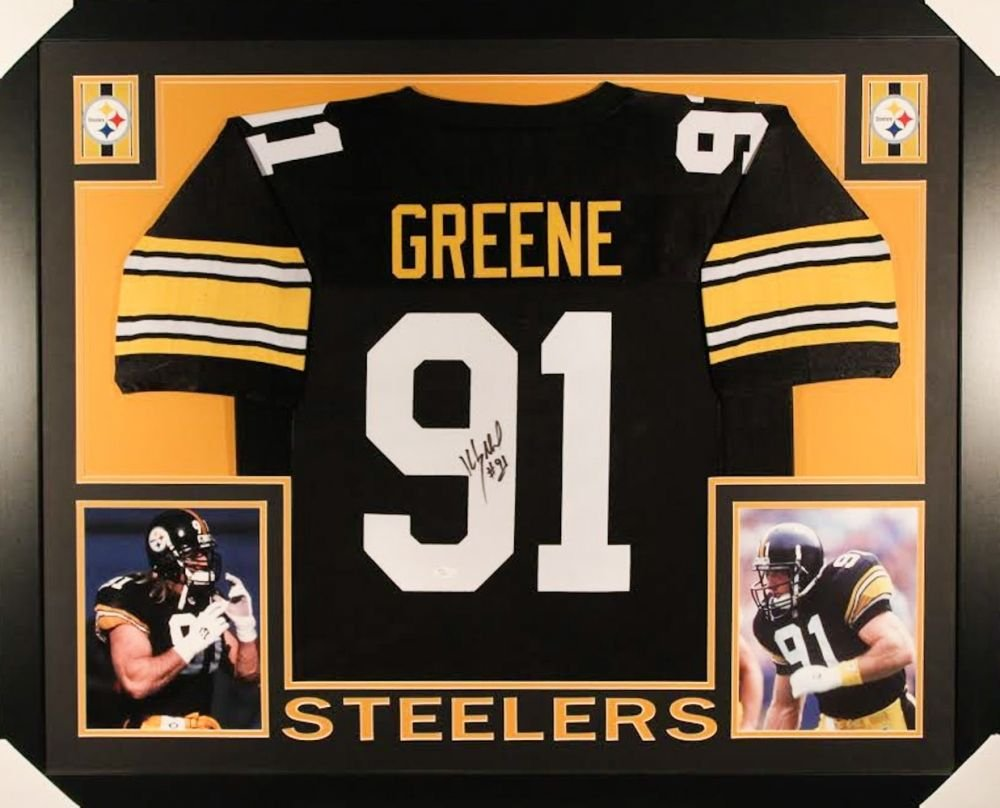 8ef0515b2 Kevin Greene Signed Steelers 35x43 Custom Framed Jersey (JSA COA) at  Amazon s Sports Collectibles Store