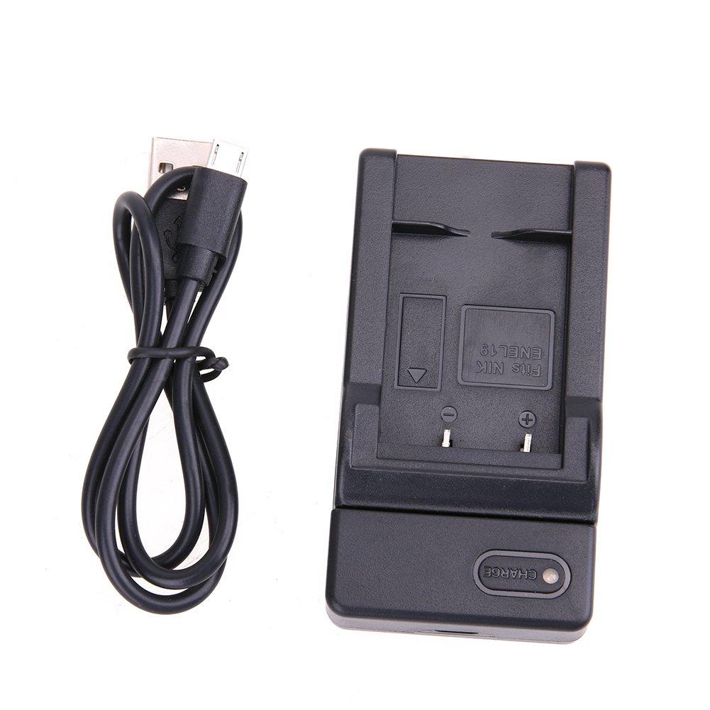 EN-EL19 Replacement Micro USB Battery Charger for Nikon DC5V 500MA Coolpix 32, S33, S100, S2800, S3100, S3200, S3300, S3500, S3600, S3700, S4100, S4200, S4300, S5200, S5300, S6500 BestUS