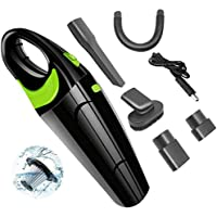 BEONE Handheld Car Vacuum Cordless Cleaner, 4000Pa Strong Cyclone Suction Clean Up Pet Hair Cleaning, Rechargeable Wireless Portable, Wet Dry Dual-Use