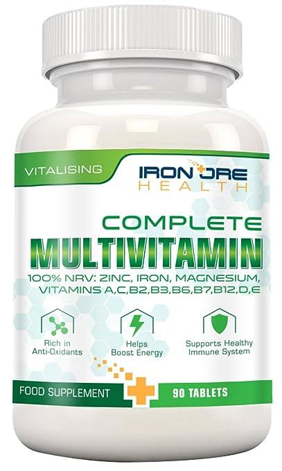 71 opinioni per Complete Multivitamin – Il migliore prodotto per un'ottima salute – Vitalità,