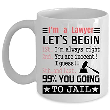 Amazon Lets Begin 99 You Going To Jail Coffee Mug Im A