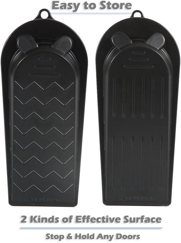 Juego de 2 soportes para matr/ícula color negro