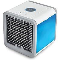 Ventilador de aire frío, Ventilador eléctrico Mini acondicionador de aire, Humidificador, Limpiador de aire para la casa o officina