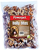 Powerpet: Bully Bites - Natural Dog Chew - 1lb Pack - Odorless - Helps Improve Dental Hygiene - 100% Natural - Highly Digestible - Filled With Protein - Helps Keep Your Dog Healthy & Happy
