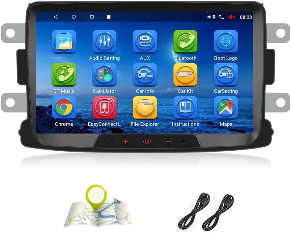 Android 7 1 Autoradio Für Renault Dacia Gps Navigation Elektronik
