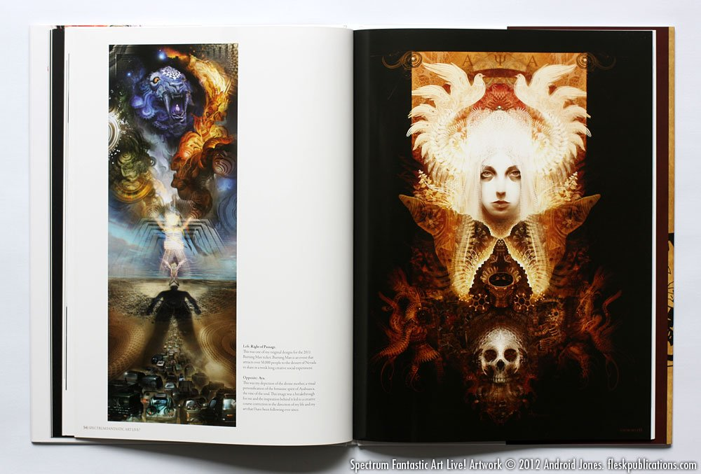 Spectrum Fantastic Art Live!: Christopher Golden, Lorne