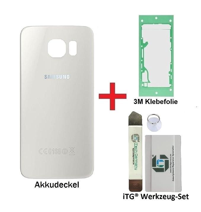 1 opinioni per iTG® PREMIUM Copertura della batteria kit di sostituzione per Samsung Galaxy S6