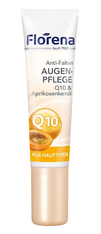 Florena Anti-Falten Augenpflege Q10 Creme, 2er Pack (2 x 15 ml) 87539