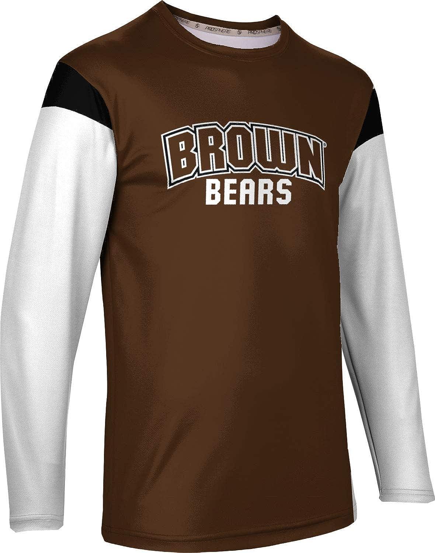 ProSphere Brown University Mens Long Sleeve Tee Tailgate