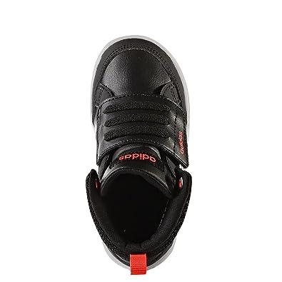 promo code b9d44 15080 adidas Neo Bb9973, Chaussures Premiers Pas pour bébé (garçon) - Noir - Noir