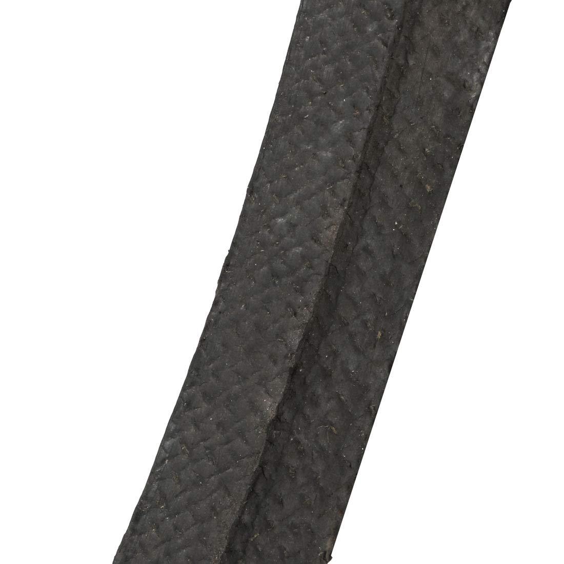 sourcing map K-20 V Belt Machine Transmission Rubber,Black Replacement Drive Belt.
