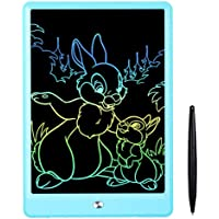 تابلت ال سي دي 10 انش للكتابة/ تابلت للرسم للاطفال، لوح رسومات بشاشة ملونة ولوح رسم للاطفال للاعمار من 2 فما فوق