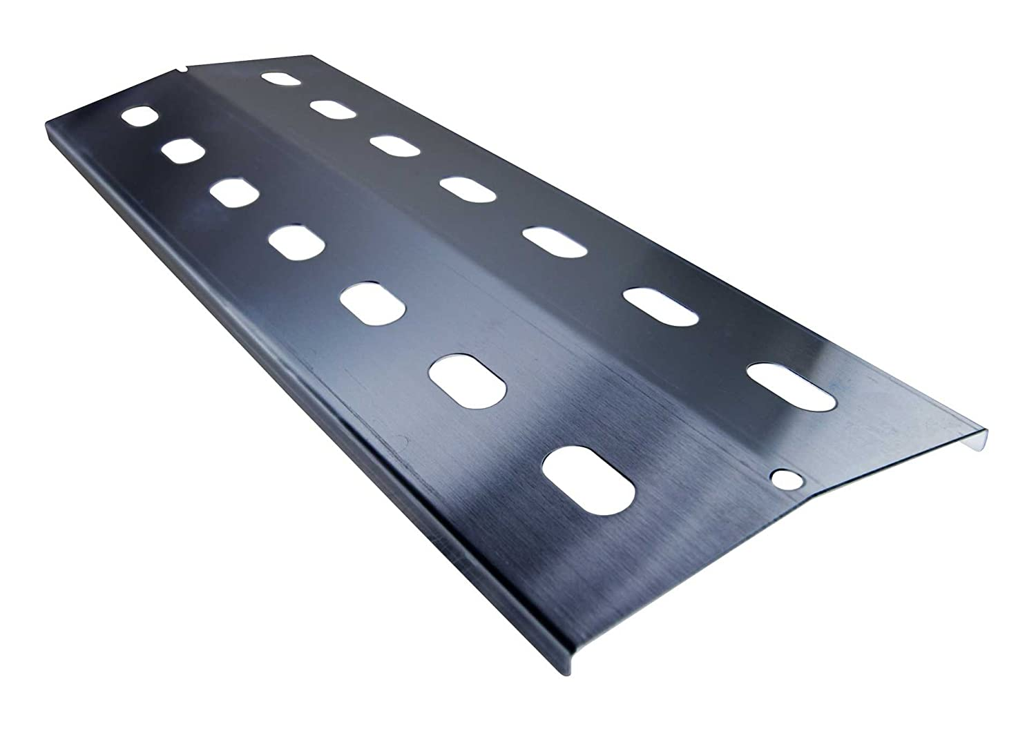 1 x stainless steel heat shield 41 x 14 cm for gas barbecue, flame diffuser AKTIONA