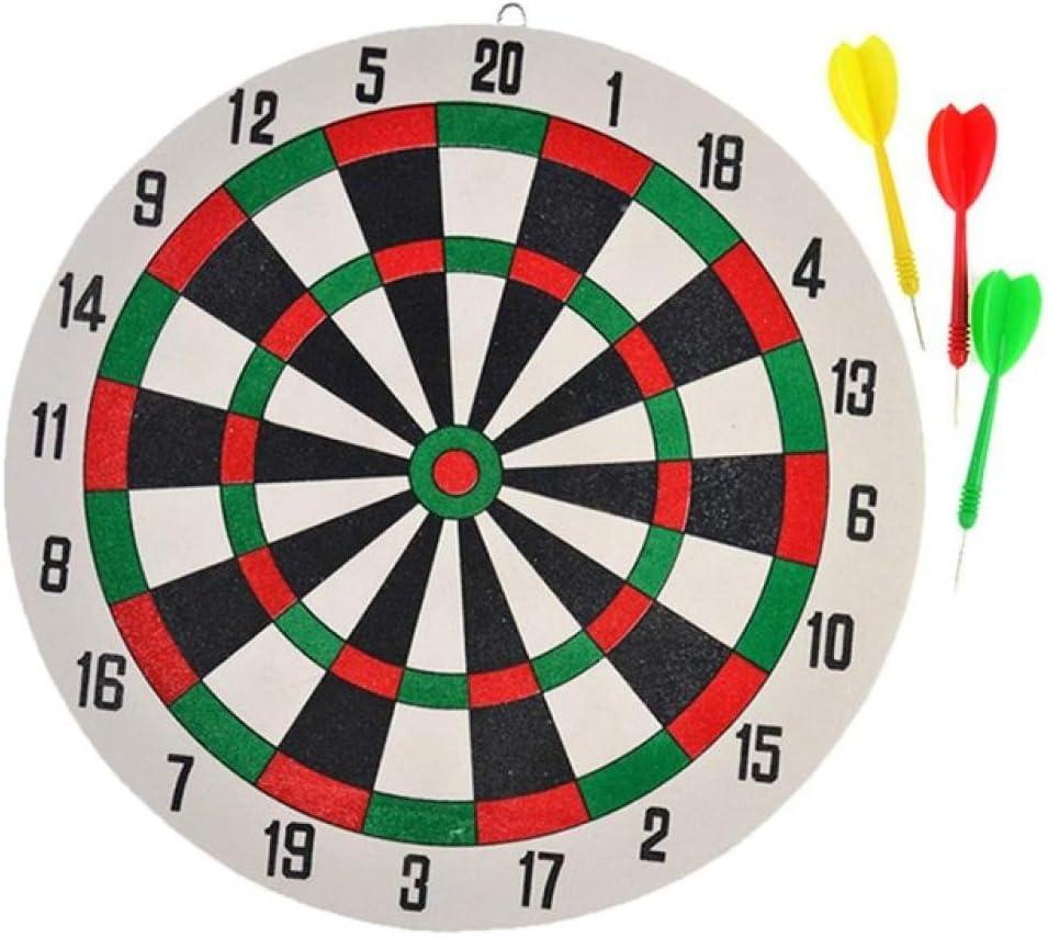 1 Set gousheng Freccette Giocattoli per Giochi di Freccette A Doppia Faccia Freccette Perfette per La Decorazione dei Bambini nella Sala Giochi