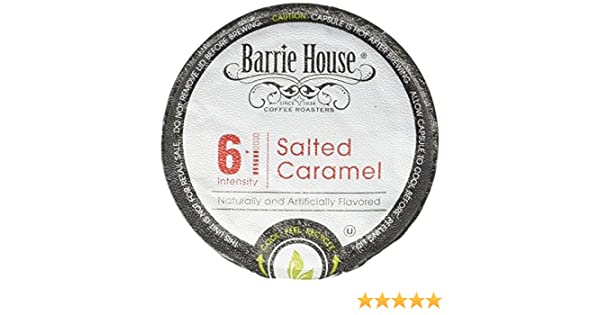 Barrie House Salted Caramel Single Cup Capsule, 96 Count: Amazon.com: Grocery & Gourmet Food