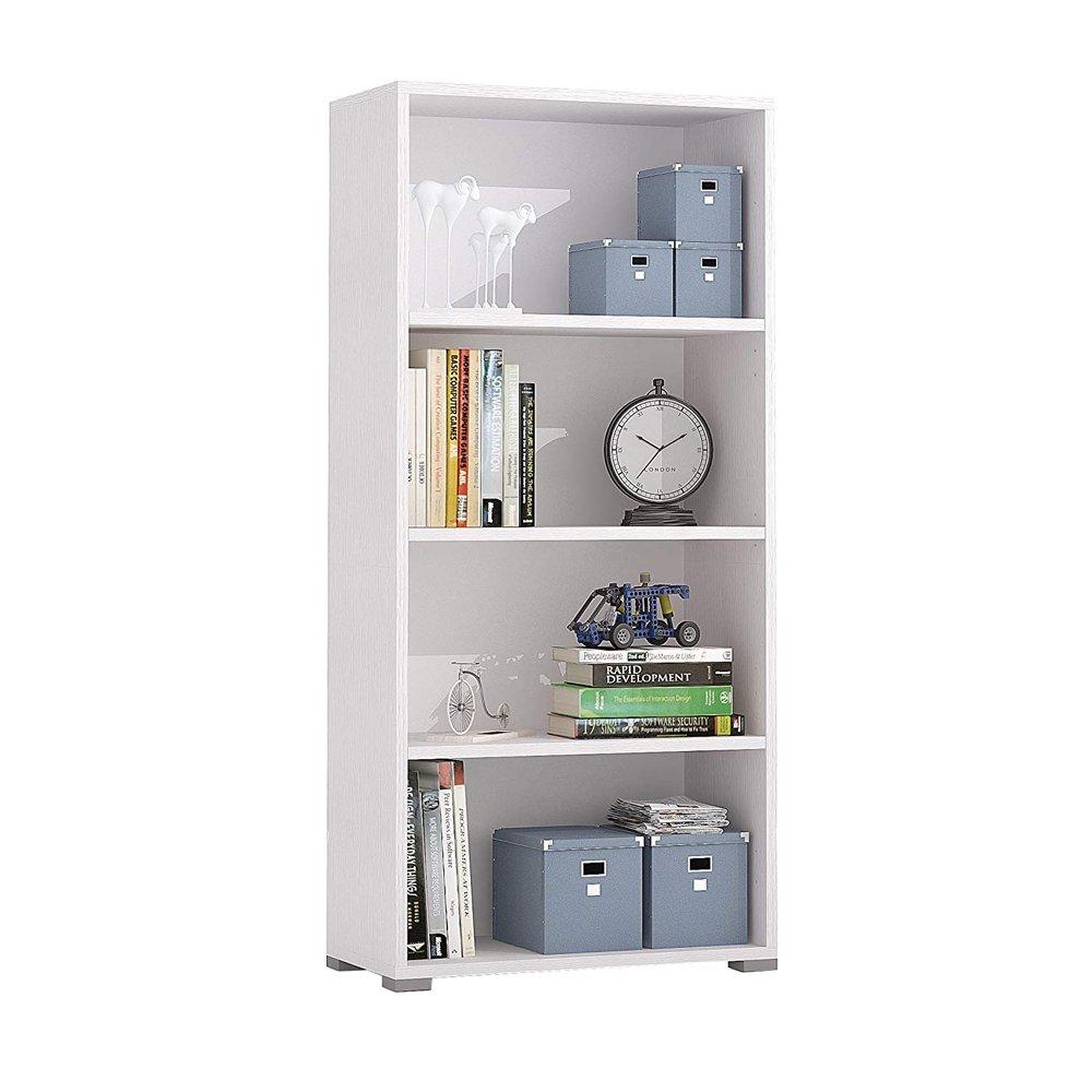Fores Diseñ o s.l. Ines A1 Libreria, 60X30X130 H cm, Bianco, Melamina Fores Diseño S.L. F01020301001