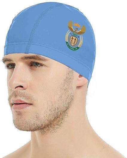 Gorra de natación del escudo de armas de Sudáfrica, gorra de ...
