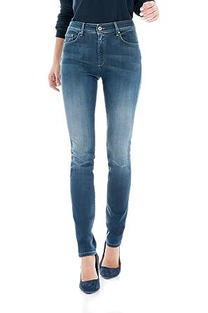 a86c35074a Salsa - Jeans taille haute - Wonder Slim Push Up - Femme - Bleu ...