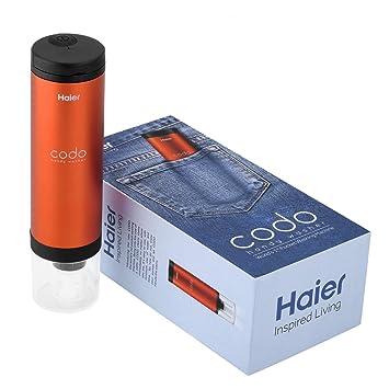 Haier Codo - Mini lavadora portátil, Máquina de lavado de manos para limpiar las manchas