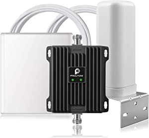 Cell Signal Booster for House/RV - Verizon, AT&T, T-Mobile Booster for Cell Phone | Band 12 13 17 Signal Repeater - Boost 4G LTE HD Voice & Data Cellular Booster - Covers Up to 4500 sq ft Area