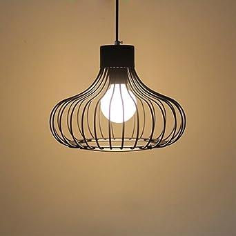 Nclon Vintage Industrial Simple Lámpara de techo,E27 Ideas de ...