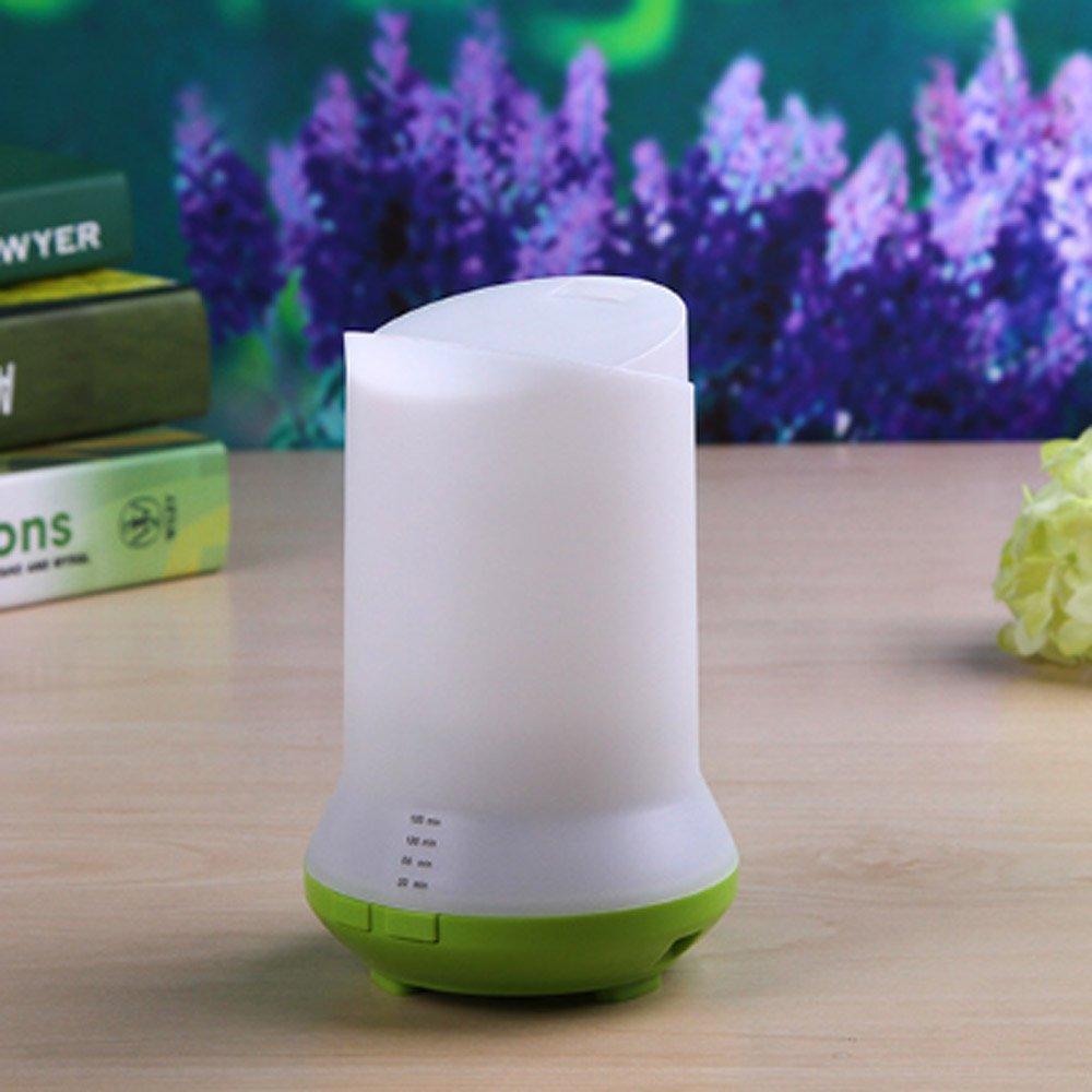 USB Lámpara de Fragancia Estufa humidificador de Aceite Esencial de aromaterapia Tipo de Dormitorio Enchufe en el humidificador de Aire del Horno Eléctrico: ...