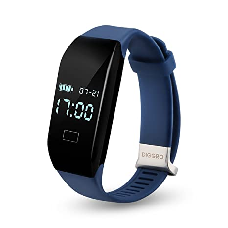 Diggro H3 - Ajustable Smartwatch Pulsera de Actividad (Impermeable ...