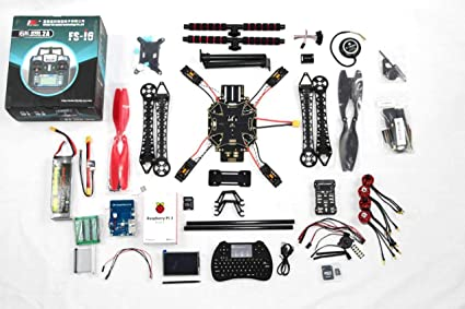 Amazon com: DIY FPV Drone 4-axis Quadcopter Kit S500 Frame +