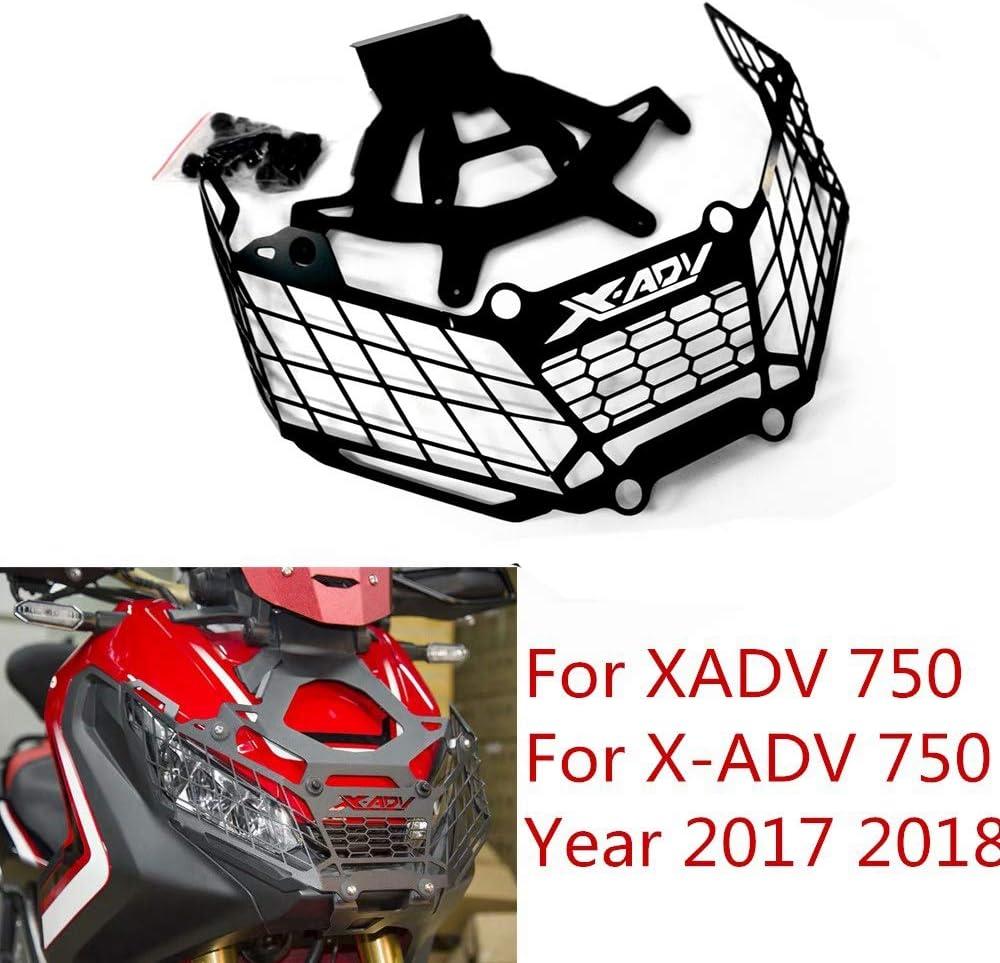 Nrpfell de Capot de Garde Phare Modification pour X-ADV 750 X ADV 750 X-ADV 750 X ADV X-ADV 750 17-18 Noir