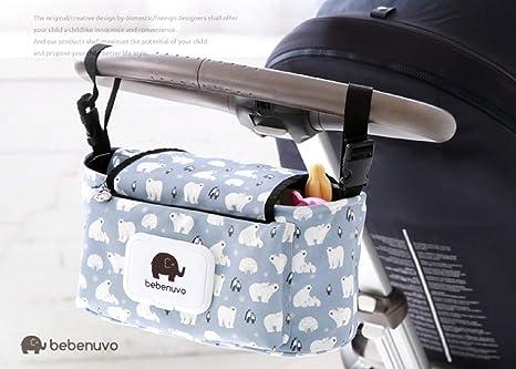 Carro Bebé Bolso de bolsa de almacenamiento bolsa de pañales para Impermeable Infantil