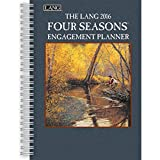 Lang Four Seasons 2016 Engagement Planner, Spiral Bound by Lee Stroncek, January to December 2016, 6.25 x 9 Inches (1011084)