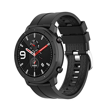 Klaas Nic 22mm Silicone Band for Samsung Galaxy Watch 46mm/Gear S3 Classic/Frontier,Quick Release Strap for Women Men Amazfit GTR 47MM/Huawei ...