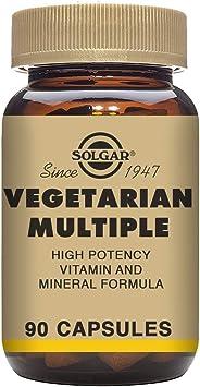 Solgar MULTIVITAMINICO VEGETARIANO 90vegicaps - 100 gr (E2791)