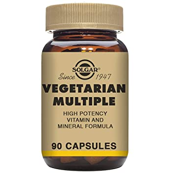 Solgar MULTIVITAMINICO VEGETARIANO 90vegicaps - 100 gr